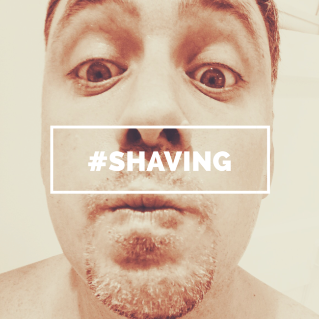 David Brent Beard #Shaving