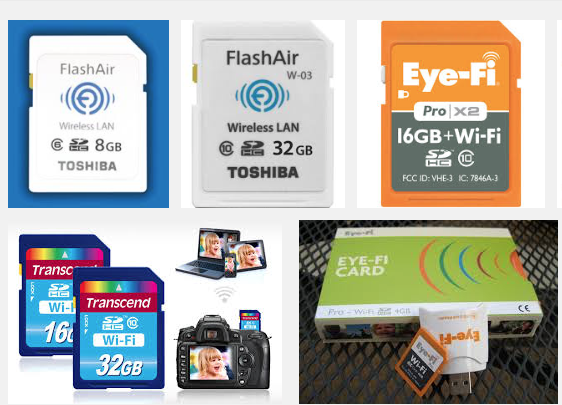 SD Wifi Cards