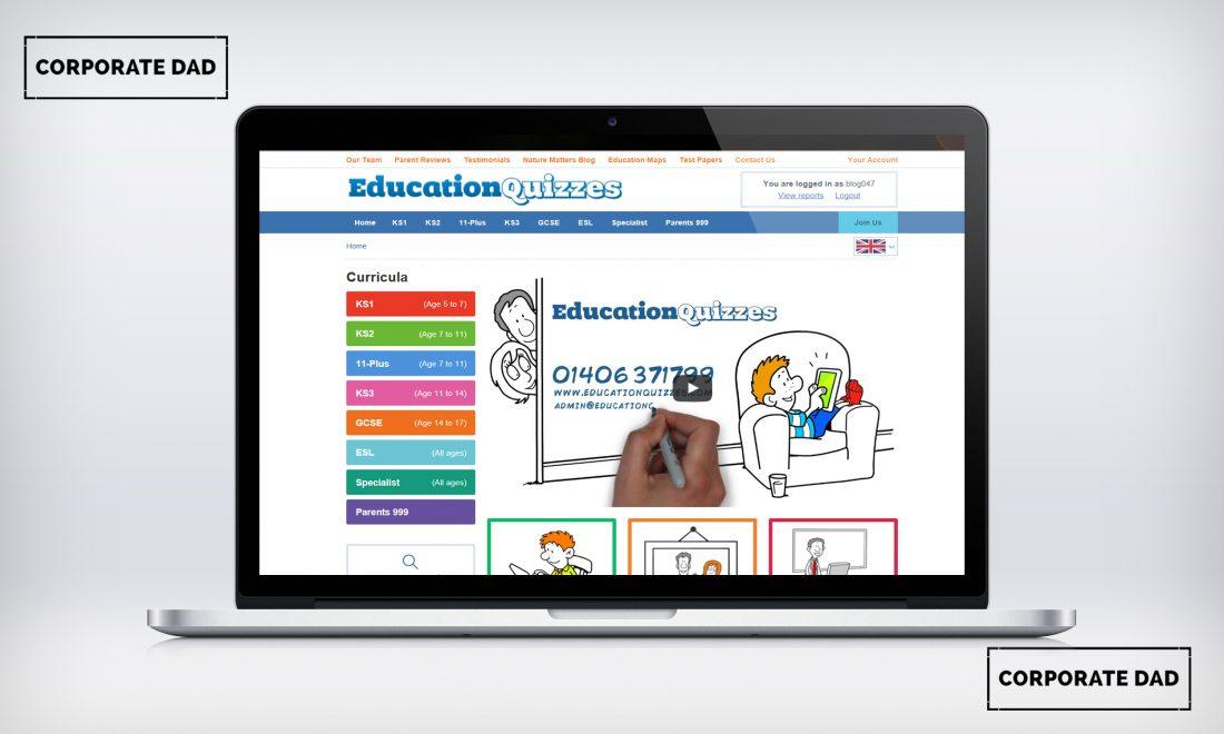 Educational Quizzes for KS1 Online Platform